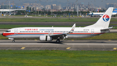 B-5731 - Boeing 737-89P - China Eastern Airlines