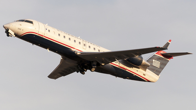 N250PS - Bombardier CRJ-200ER - US Airways Express (PSA Airlines)