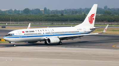 B-5507 - Boeing 737-89L - Air China
