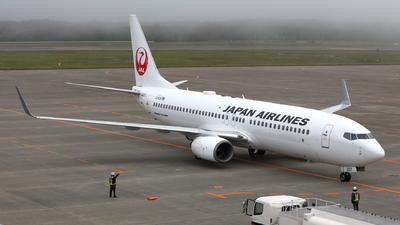 A picture of JA307J - Boeing 737846 - Japan Airlines - © kouyagi