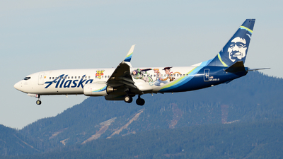 N589AS - Boeing 737-890 - Alaska Airlines