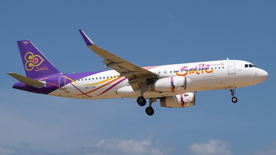 A picture of HSTXR - Airbus A320232 - Thai Smile - © Alexander Listopad