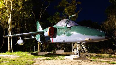 FAB5524 - Alenia/Aermacchi/Embraer A-1A - Brazil - Air Force