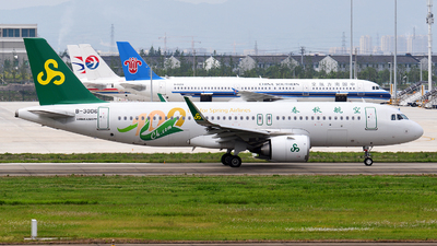 B-30D6 - Airbus A320-251N - Spring Airlines