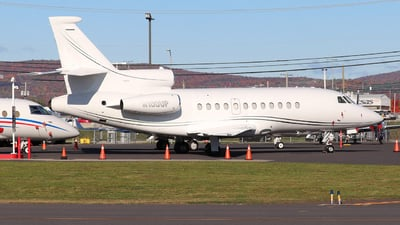 N100UP - Dassault Falcon 900 - Private