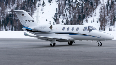 D-IFHD - Cessna 525 CitationJet M2 - E-Aviation