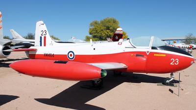 XM464 - Hunting Percival Jet Provost T.3A - United Kingdom - Royal Air Force (RAF)