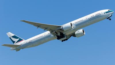 B-KPV - Boeing 777-367ER - Cathay Pacific Airways