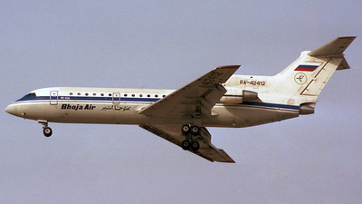 RA-42412 - Yakovlev Yak-42D - Bhoja Air