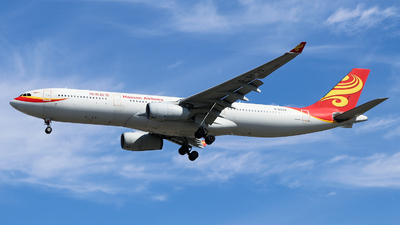 A picture of B6539 - Airbus A330343 - Hainan Airlines - © YICHEN_C