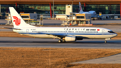 B-5167 - Boeing 737-86N - Air China