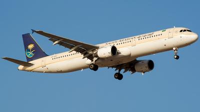 HZ-ASO - Airbus A321-211 - Saudi Arabian Airlines