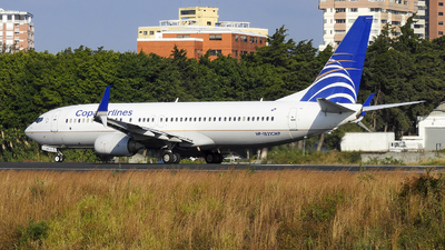 HP-1821CMP - Boeing 737-8V3 - Copa Airlines