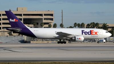 N683FE - Airbus A300F4-605R - FedEx