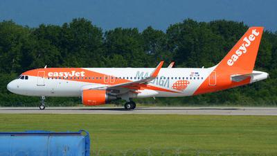 OE-IJW - Airbus A320-214 - easyJet Europe
