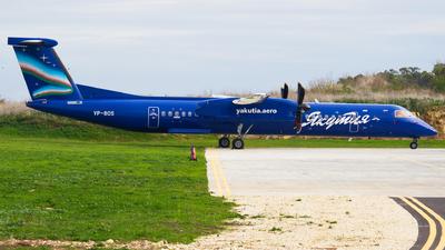 A picture of VPBOS - De Havilland Canada Dash 8400 - [4159] - © Jeancarl Cardona