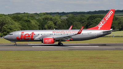 A picture of GJZBI - Boeing 7378MG - Jet2 - © Ian Howat