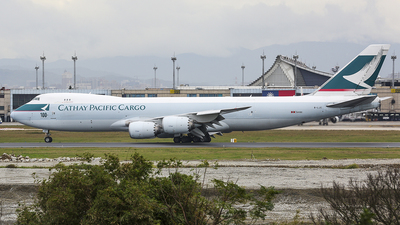 B-LJC - Boeing 747-867F - Cathay Pacific Cargo
