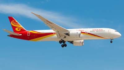A picture of B1138 - Boeing 7879 Dreamliner - Hainan Airlines - © LINGXIAO