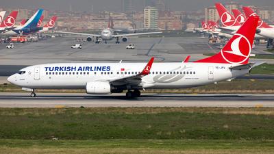 TC-JFV - Boeing 737-8F2 - Turkish Airlines