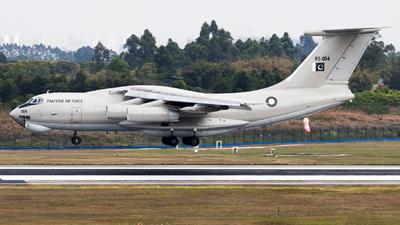 R11-004 - Ilyushin IL-78M Midas - Pakistan - Air Force