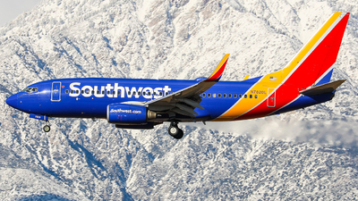 A picture of N7820L - Boeing 73779P - Southwest Airlines - © KenKen Huang