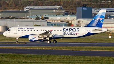 OY-RCJ - Airbus A320-214 - Atlantic Airways