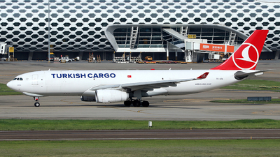 A picture of TCJOV - Airbus A330243F - Turkish Airlines - © Brian
