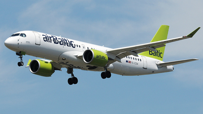 YL-CSA - Bombardier CSeries CS300 - Air Baltic
