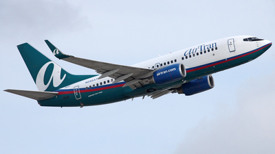 N285AT - Boeing 737-76N - airTran Airways