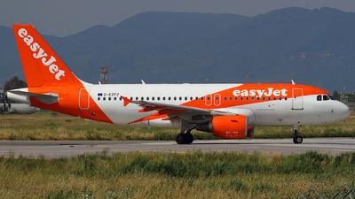 G-EZFZ - Airbus A319-111 - easyJet