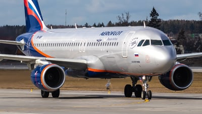 A picture of VPBIP - Airbus A320214 - Aeroflot - © Vadim Shustrov