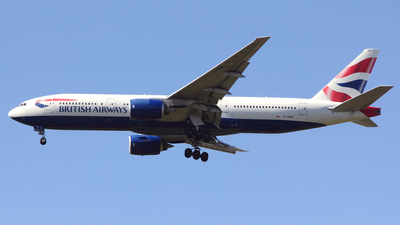 G-YMMA - Boeing 777-236(ER) - British Airways