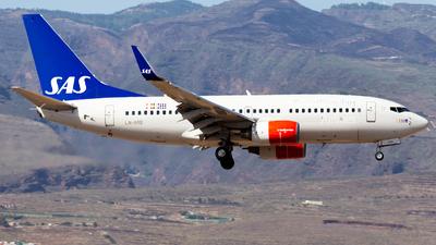 LN-RRB - Boeing 737-783 - Scandinavian Airlines (SAS)