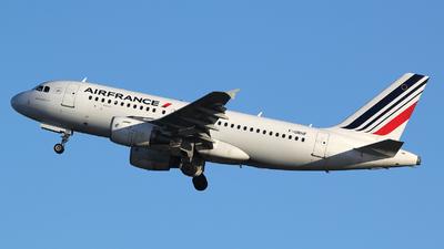 F-GRHF - Airbus A319-111 - Air France