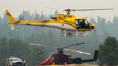 N7HE - Eurocopter AS 350B3 Ecureuil - Helicopter Express