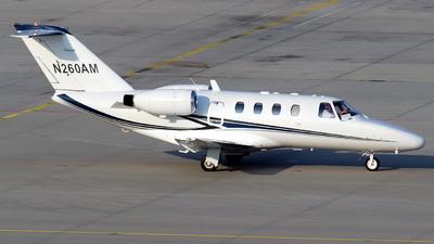 N260AM - Cessna 525 CitationJet 1 - Private