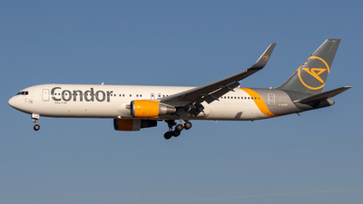 D-ABUP - Boeing 767-3Q8(ER) - Condor