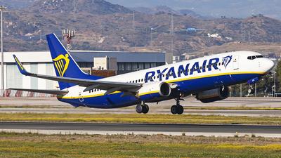 A picture of EIEBK - Boeing 7378AS - Ryanair - © Manuel Llama - Benalmadena Spotters