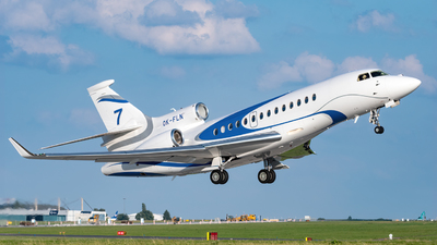 OK-FLN - Dassault Falcon 7X - ABS Jets