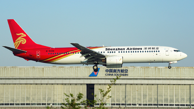 A picture of B5106 - Boeing 73797L - Shenzhen Airlines - © iceland2000