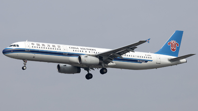 A picture of B2283 - Airbus A321231 - China Southern Airlines - © XPHNGB
