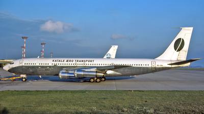9Q-CVG - Boeing 707-329C - Katale Aero Transport