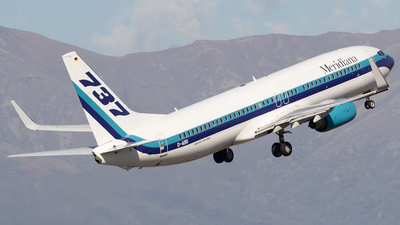 D-AIRI - Boeing 737-86J - Meridiana