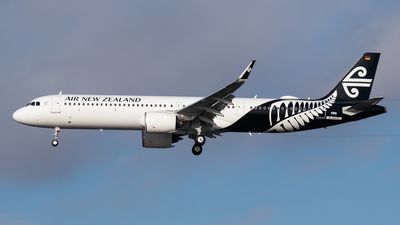 D-AVYL - Airbus A321-271NX - Air New Zealand