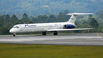 YV191T - McDonnell Douglas MD-83 - Venezolana - Linea Aérea de Venezuela