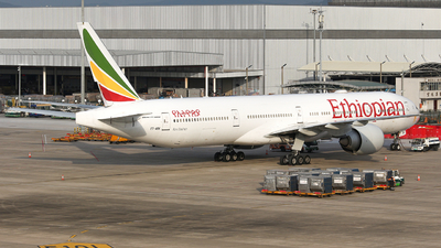 A picture of ETASK - Boeing 777360(ER) - Ethiopian Airlines - © Chingwang Lee