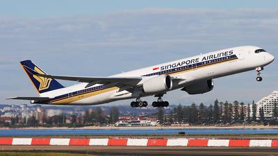 9V-SHV - Airbus A350-941 - Singapore Airlines