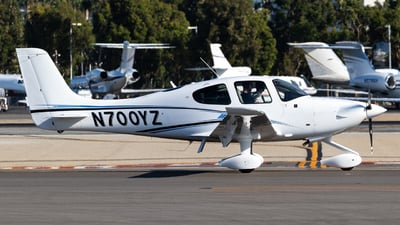 N700YZ - Cirrus SR20-G6 - Private