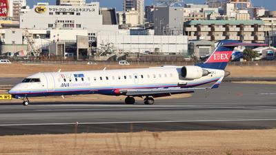 A picture of JA12RJ - Mitsubishi CRJ702ER - Ibex Airlines - © Star.M